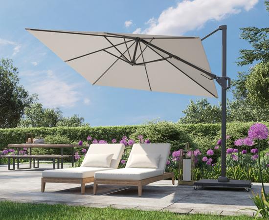 Timmermans Gartenmöbel Sonnenschirme